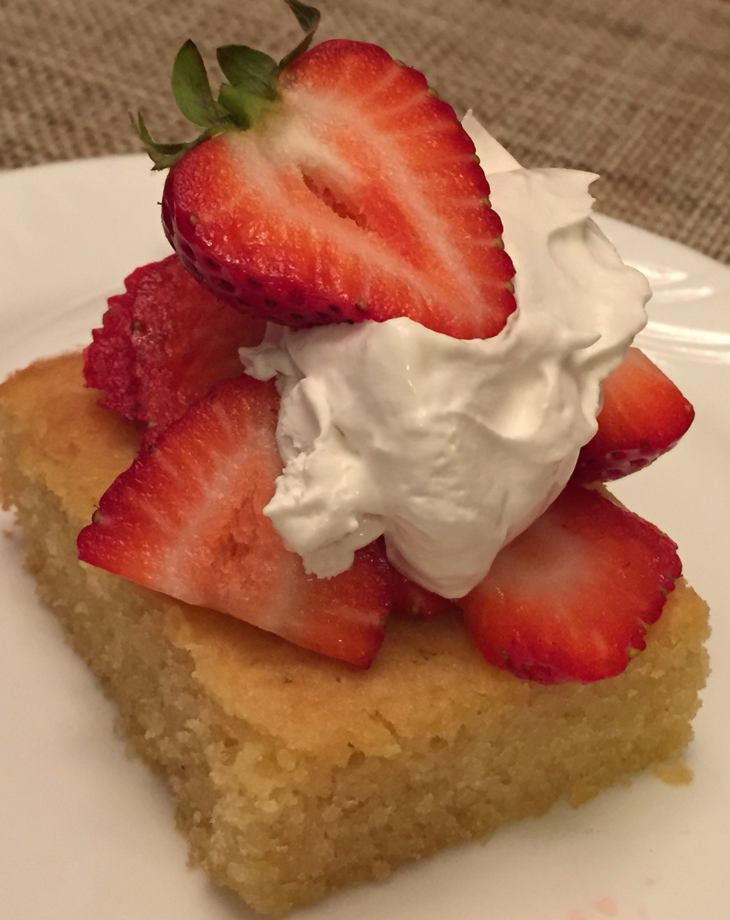 Grain Free French Almond Cake