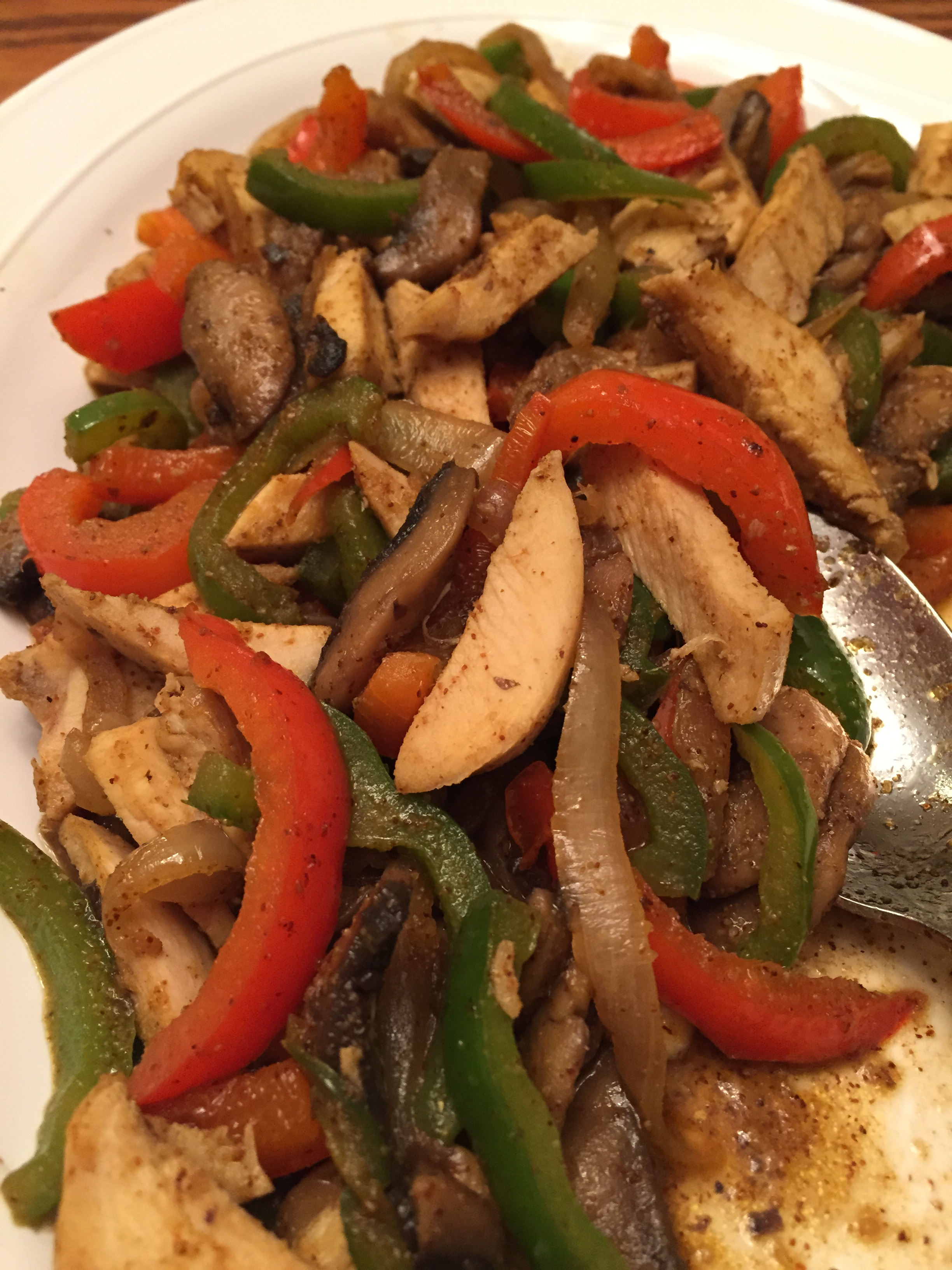 Fajita Chicken Stir Fry
